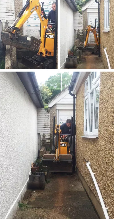 Expert Micro Digger Hire Bishop's Green, RG19