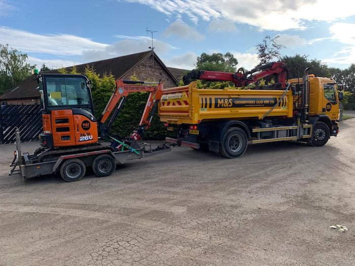 Plant Hire Earley, RG6